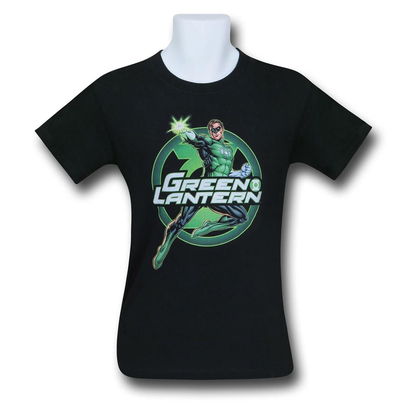 Green Lantern Glow Kids T-Shirt