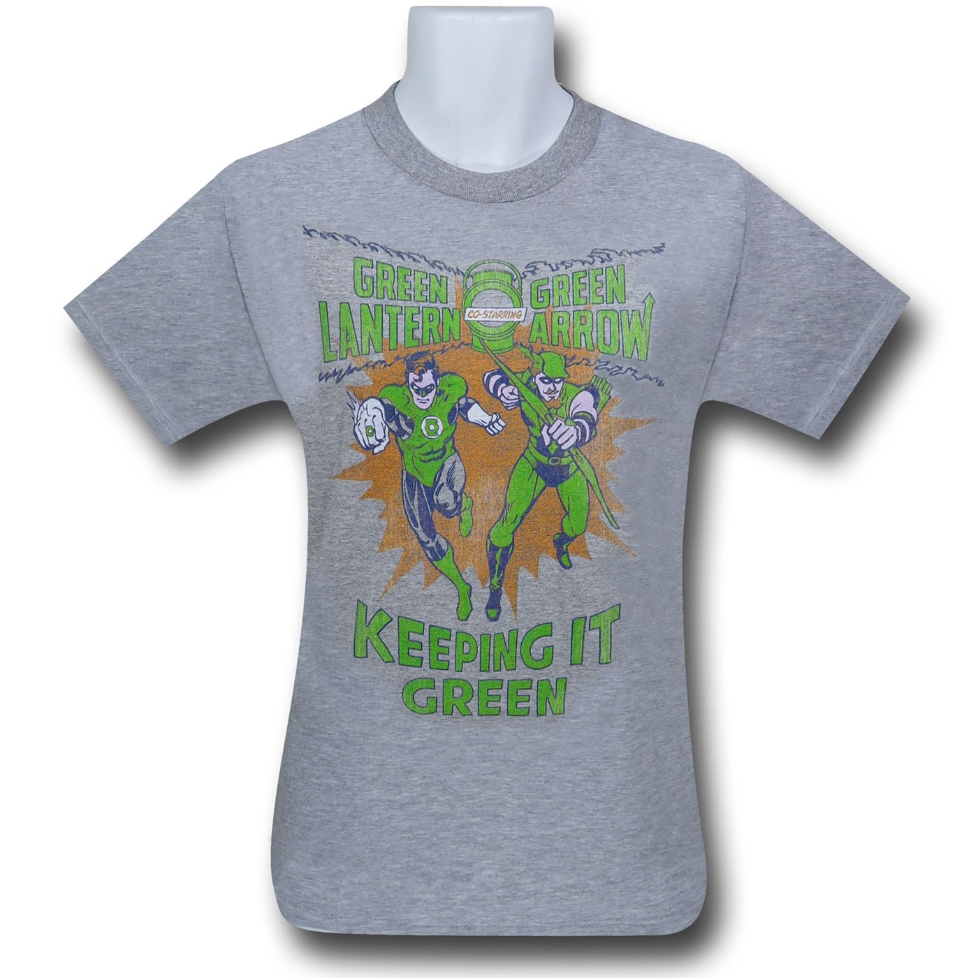 Green Lantern Keeping It Green T-Shirt