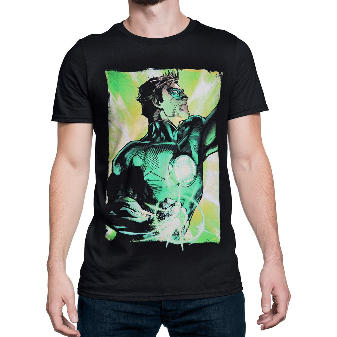 Green Lantern Power Up Men's T-Shirt