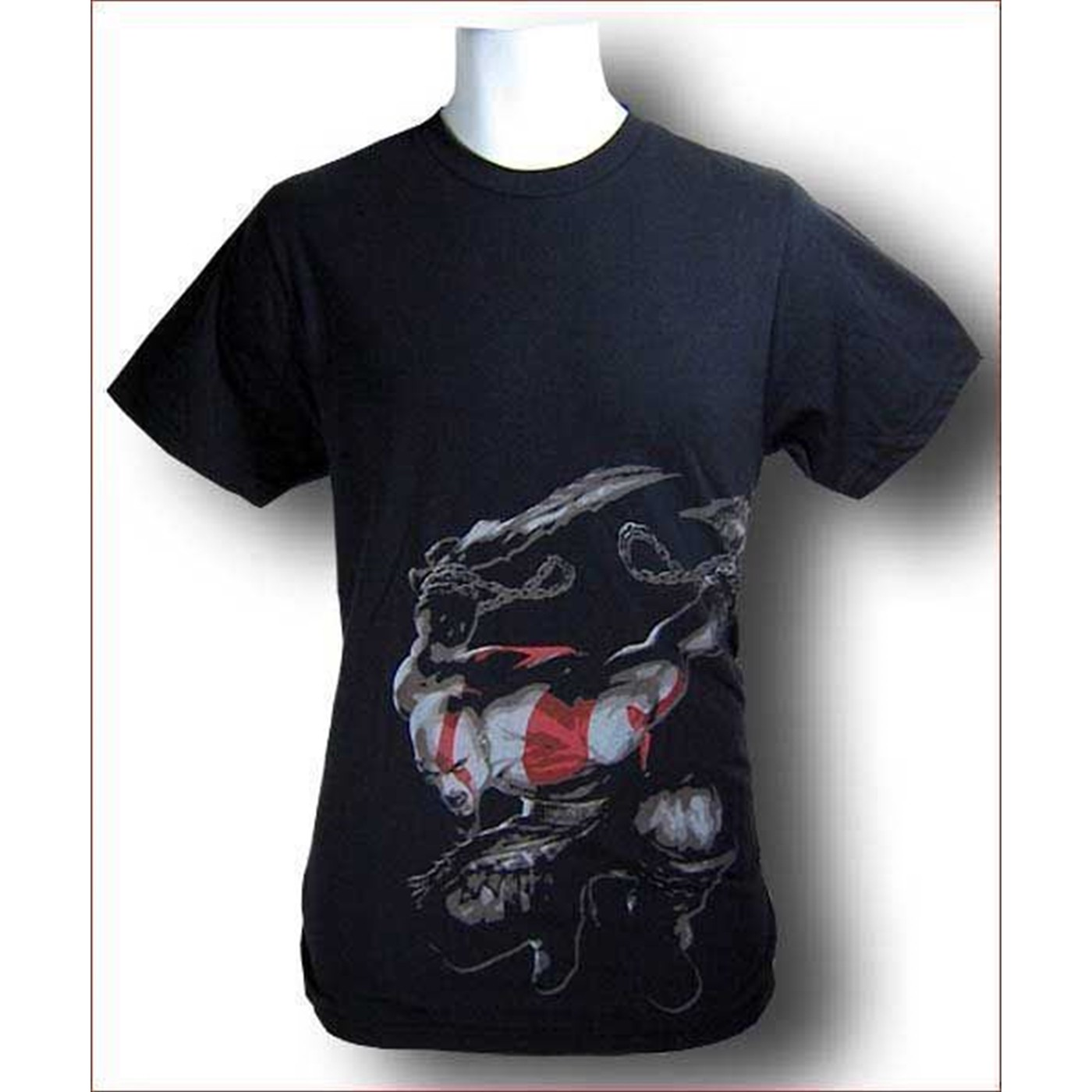 God Of War T-Shirt Kratos Jump... and Kill! 18.99
