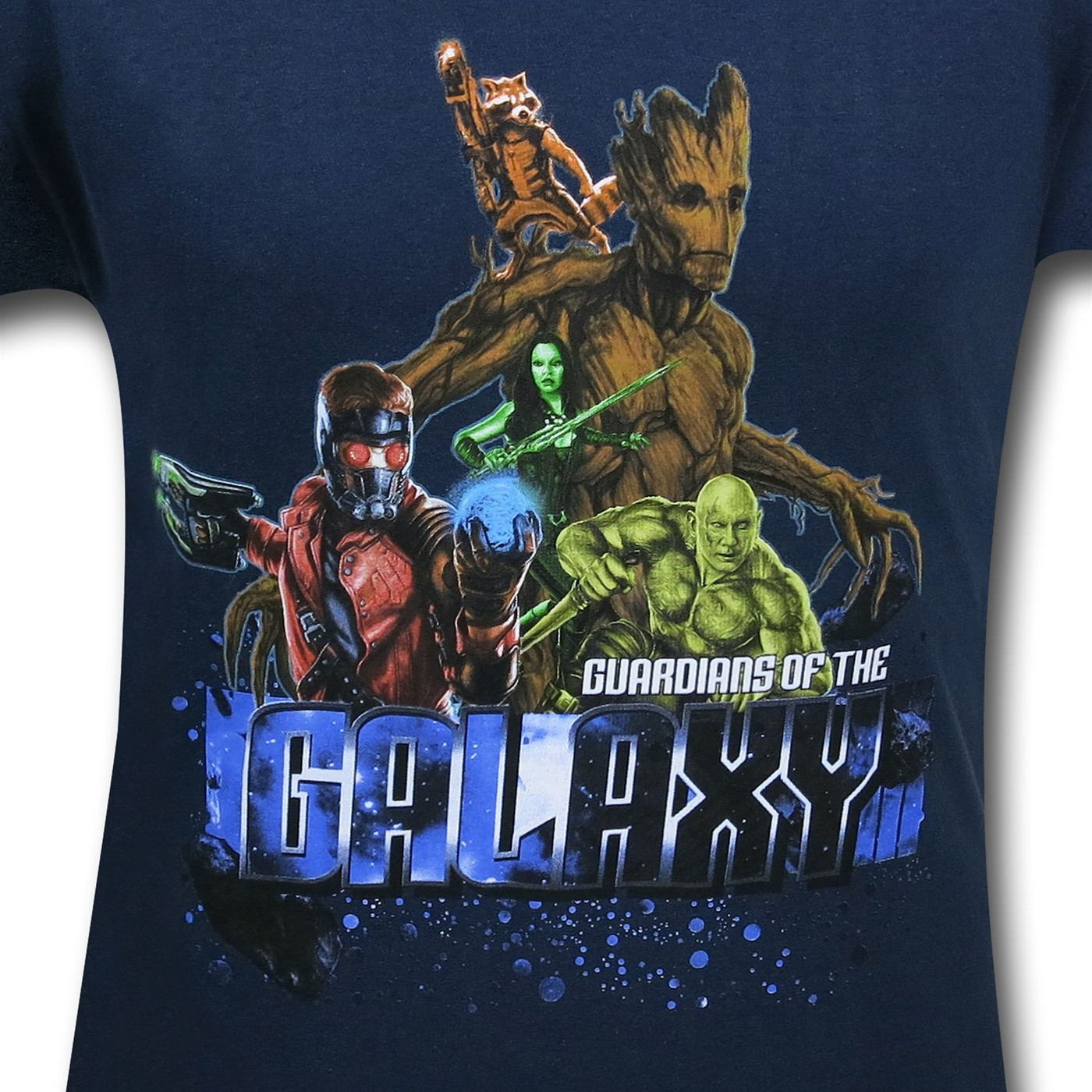 Guardians of the Galaxy Asteroid 30 Single T-Shirt