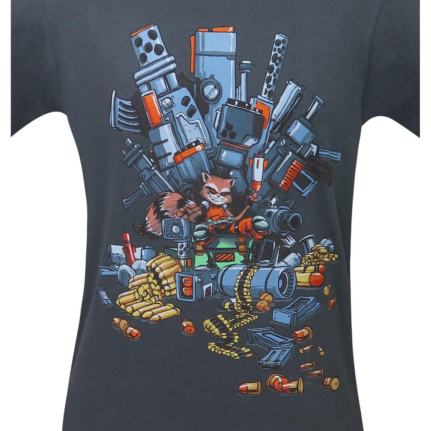 GOTG Rocket Raccoon Fully Loaded Bio T-Shirt