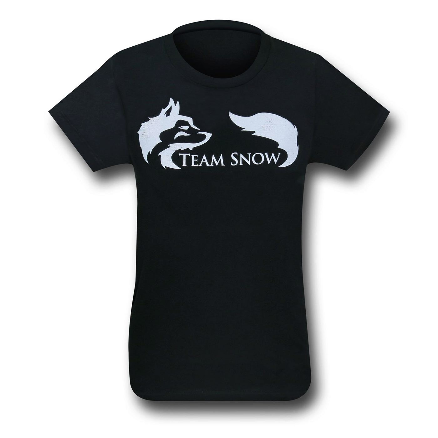 Team Snow on Black Women's T-Shirt