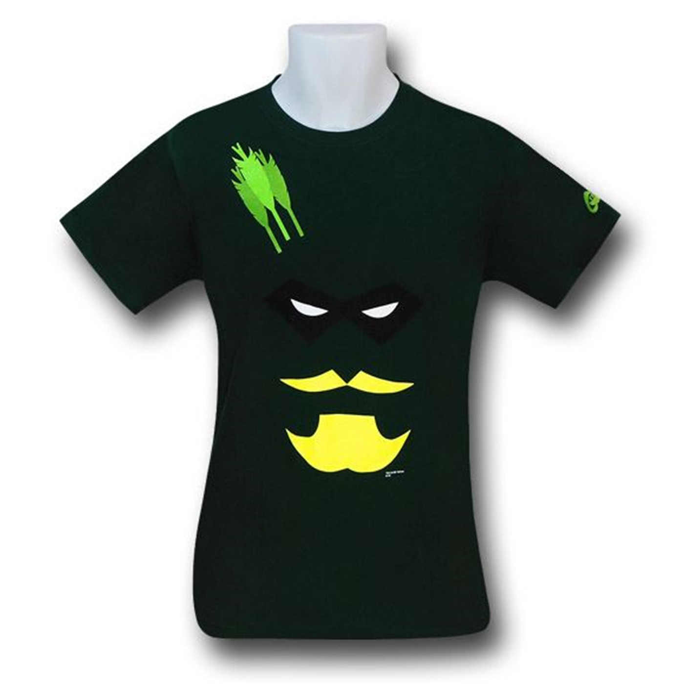 Green Arrow Minimal Face T-Shirt