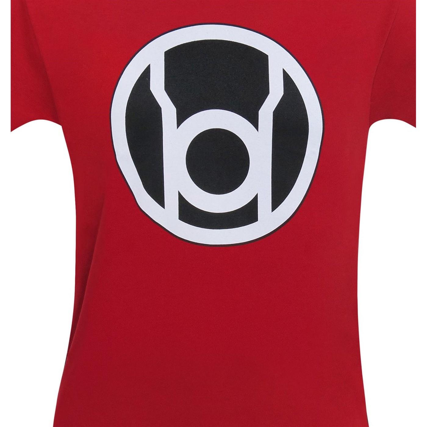 Green Lantern Red Lantern Symbol T-Shirt