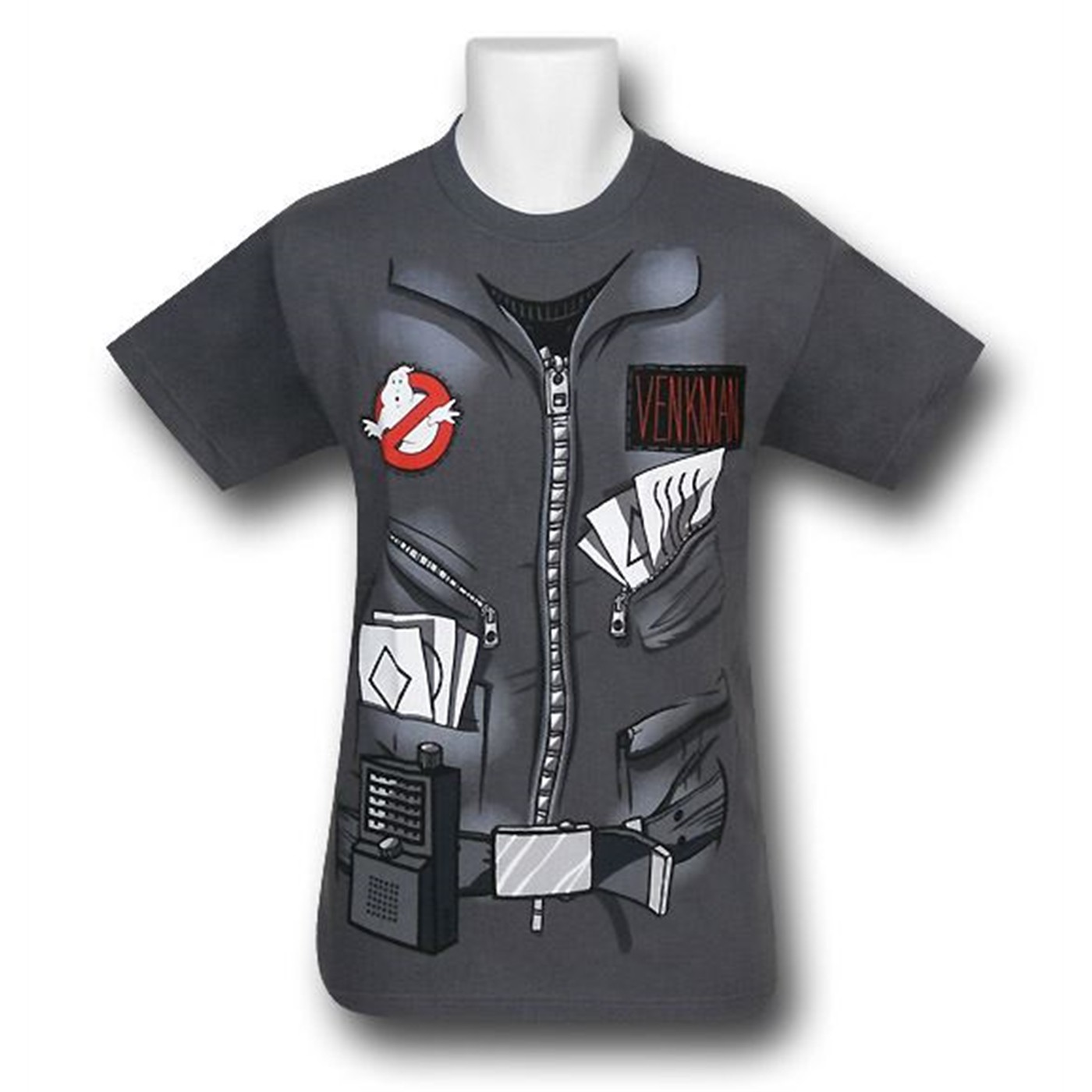 Ghostbusters Gray Venkman Costume T-Shirt