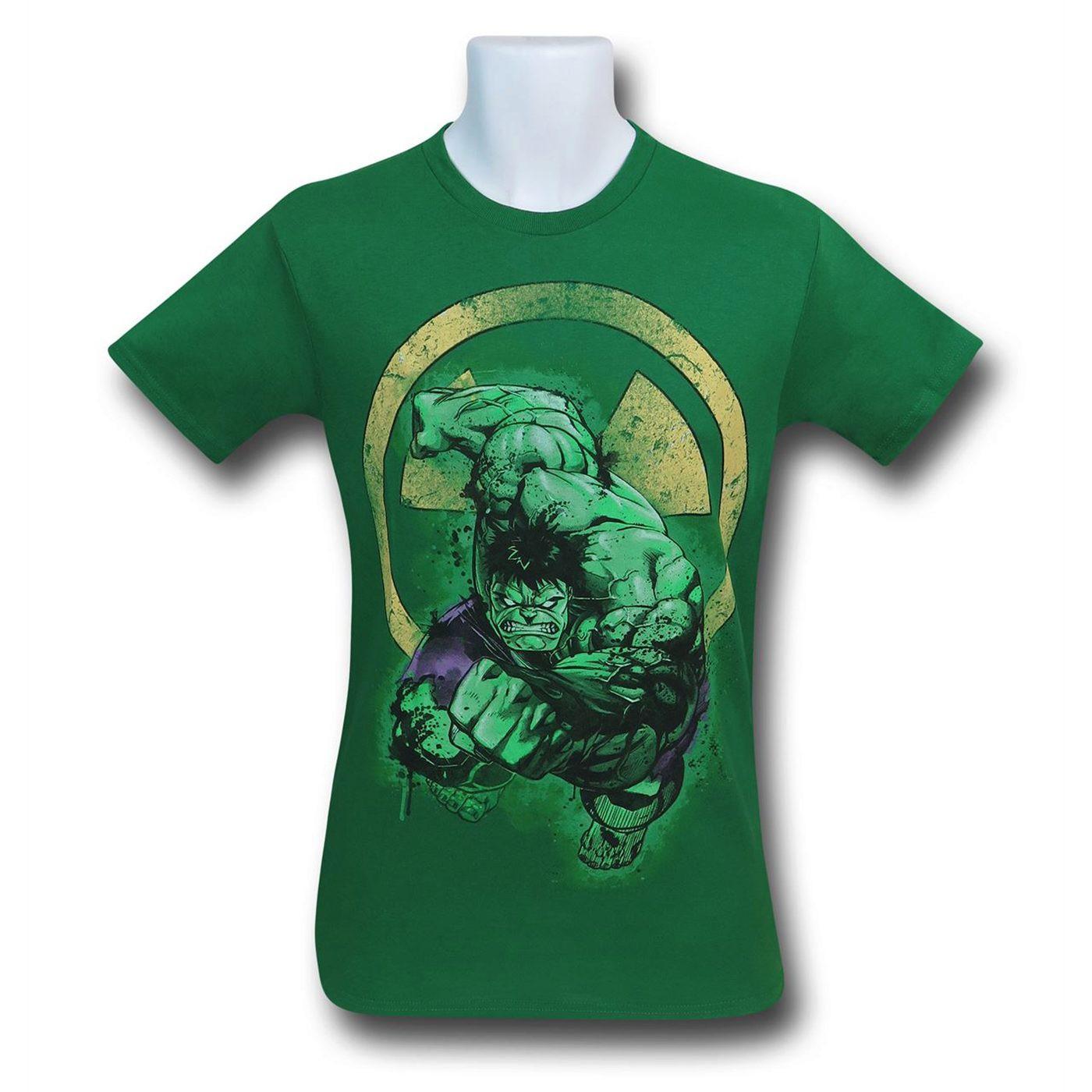 Hulk Charging Men's T-Shirt