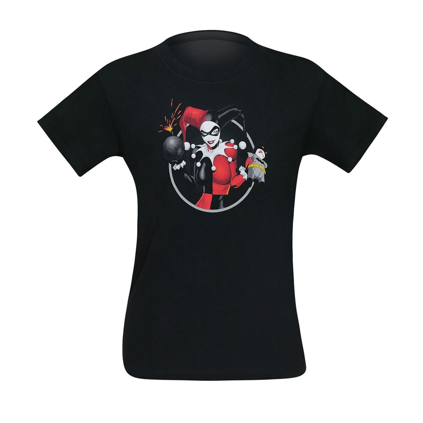 Harley Quinn the Bats Goes Boom Men's T-Shirt