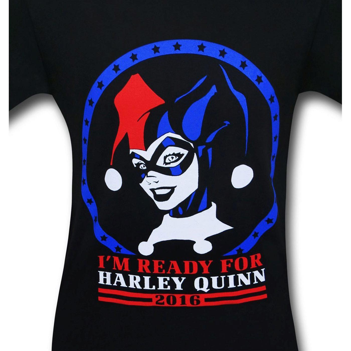 Harley Quinn for President T-Shirt