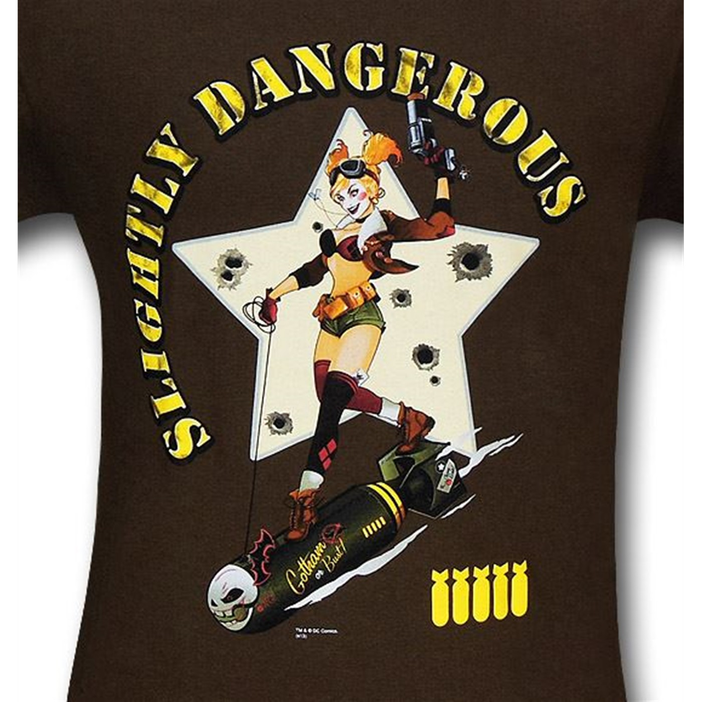 Harley Quinn Slightly Dangerous T-Shirt