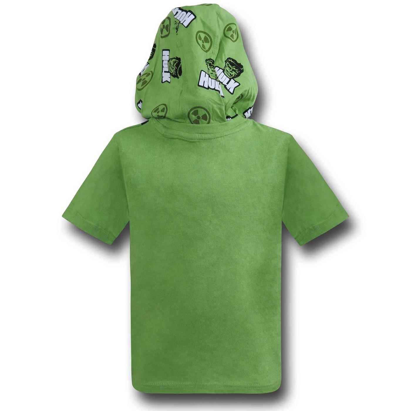 Hulk Incredible Hooded Costume Kids T-Shirt