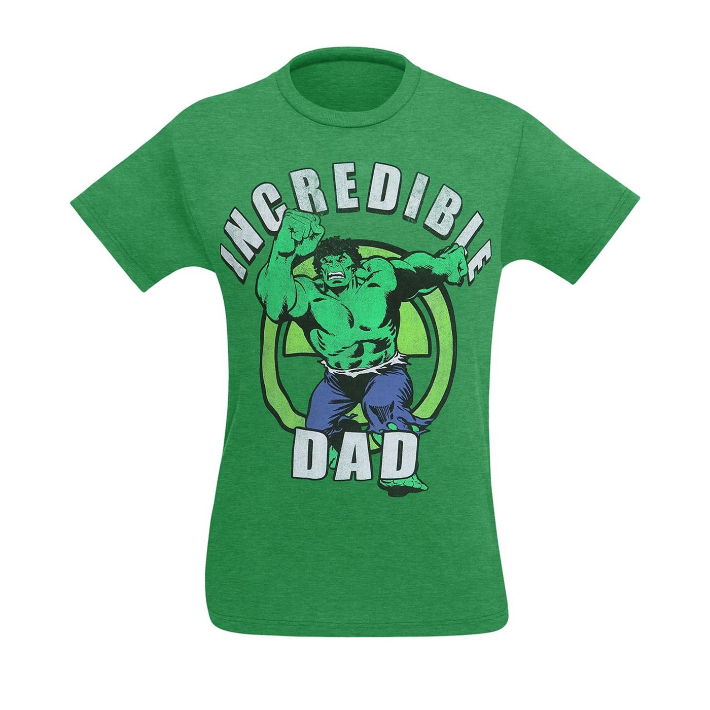 The Hulk Incredible Dad Men's T-Shirt