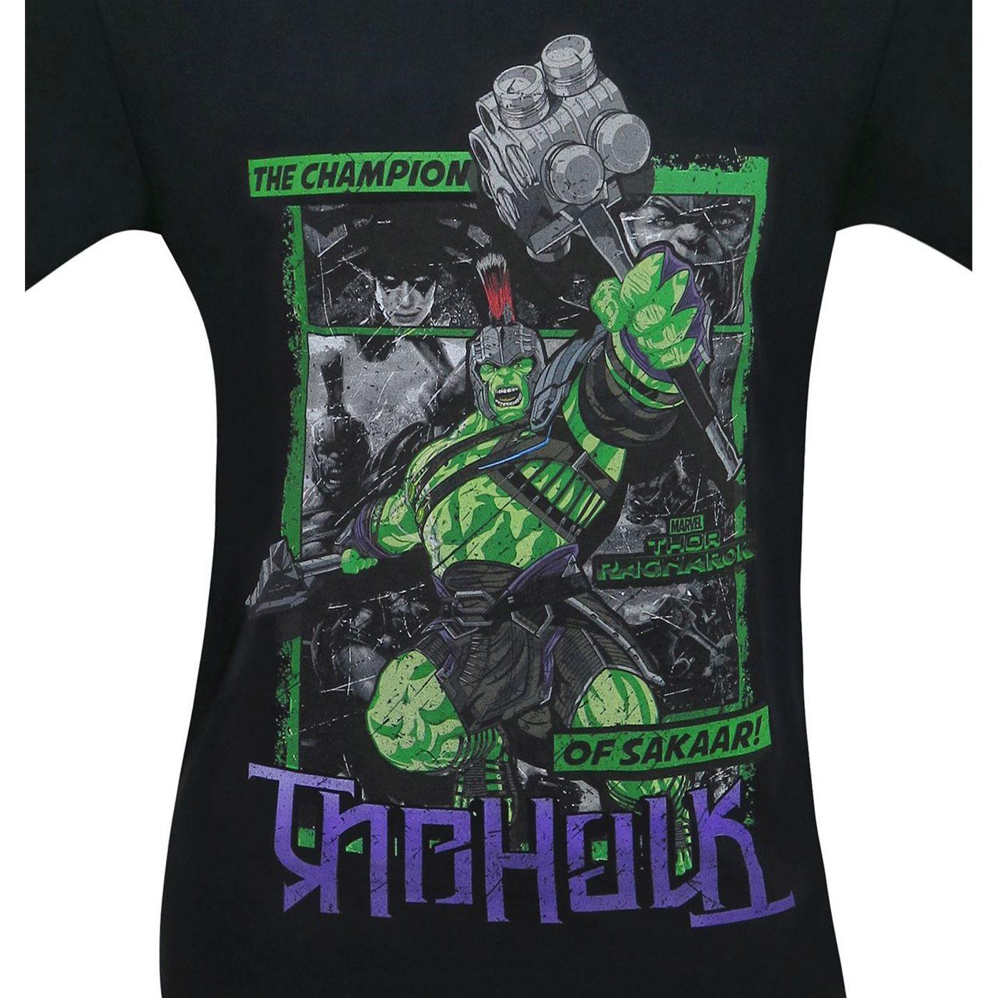 Hulk Thor Ragnarok Ambigram Men's T-Shirt