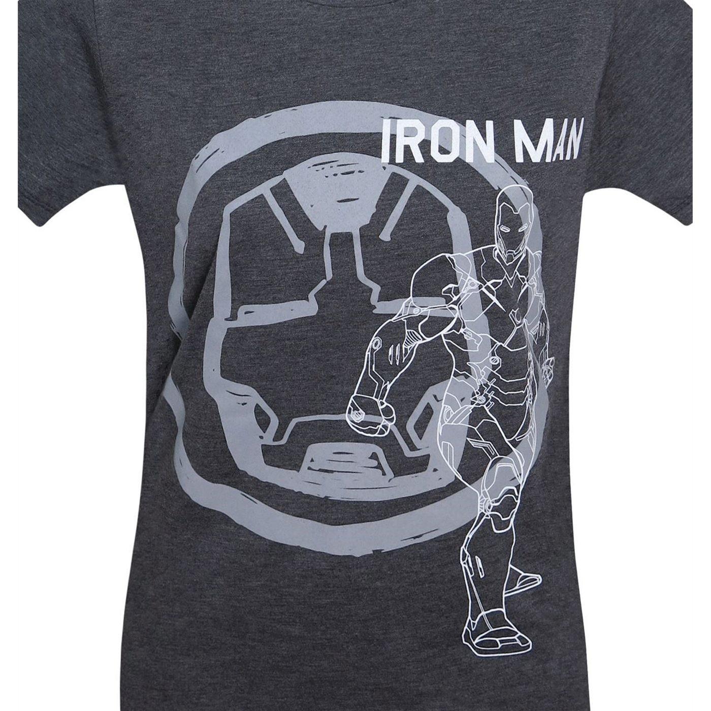 Iron Man Flag Women's T-Shirt