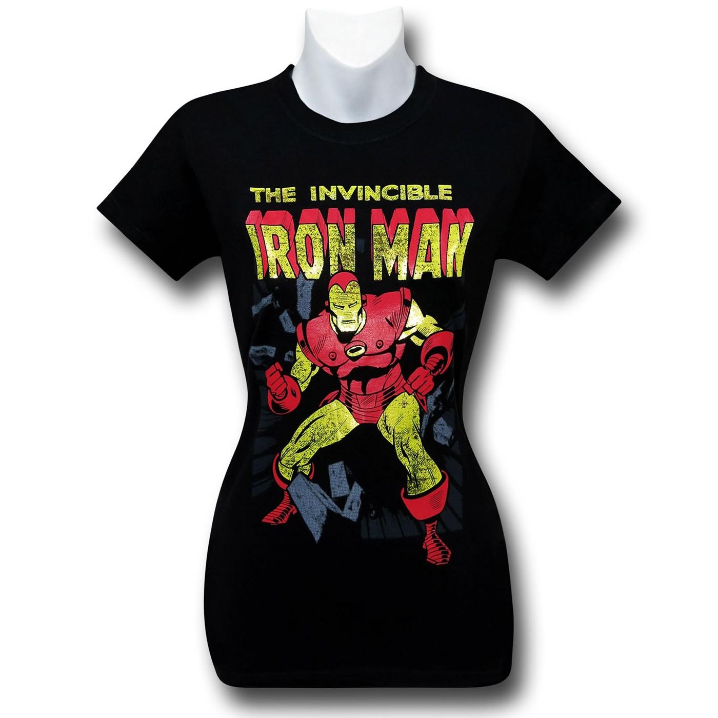 Iron Man Invincible Crash Women's T-Shirt