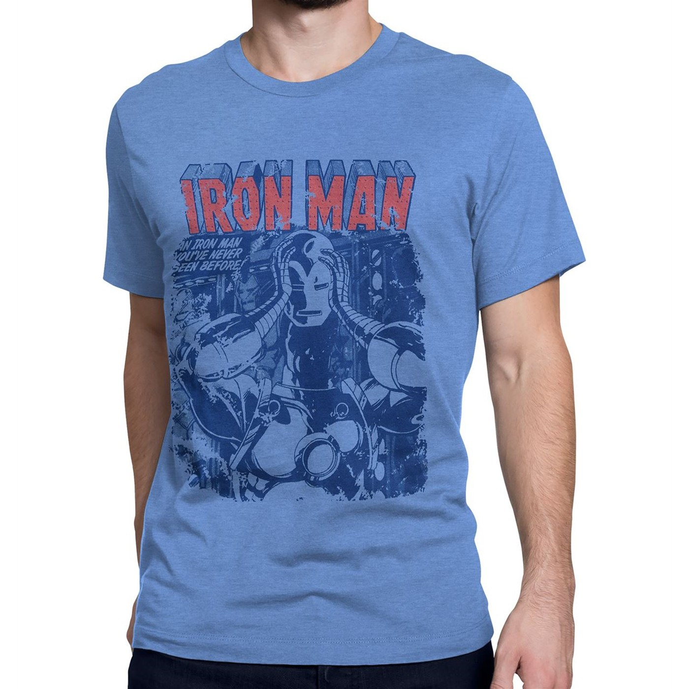 Iron Man a New Hero Revealed Men's T-Shirt