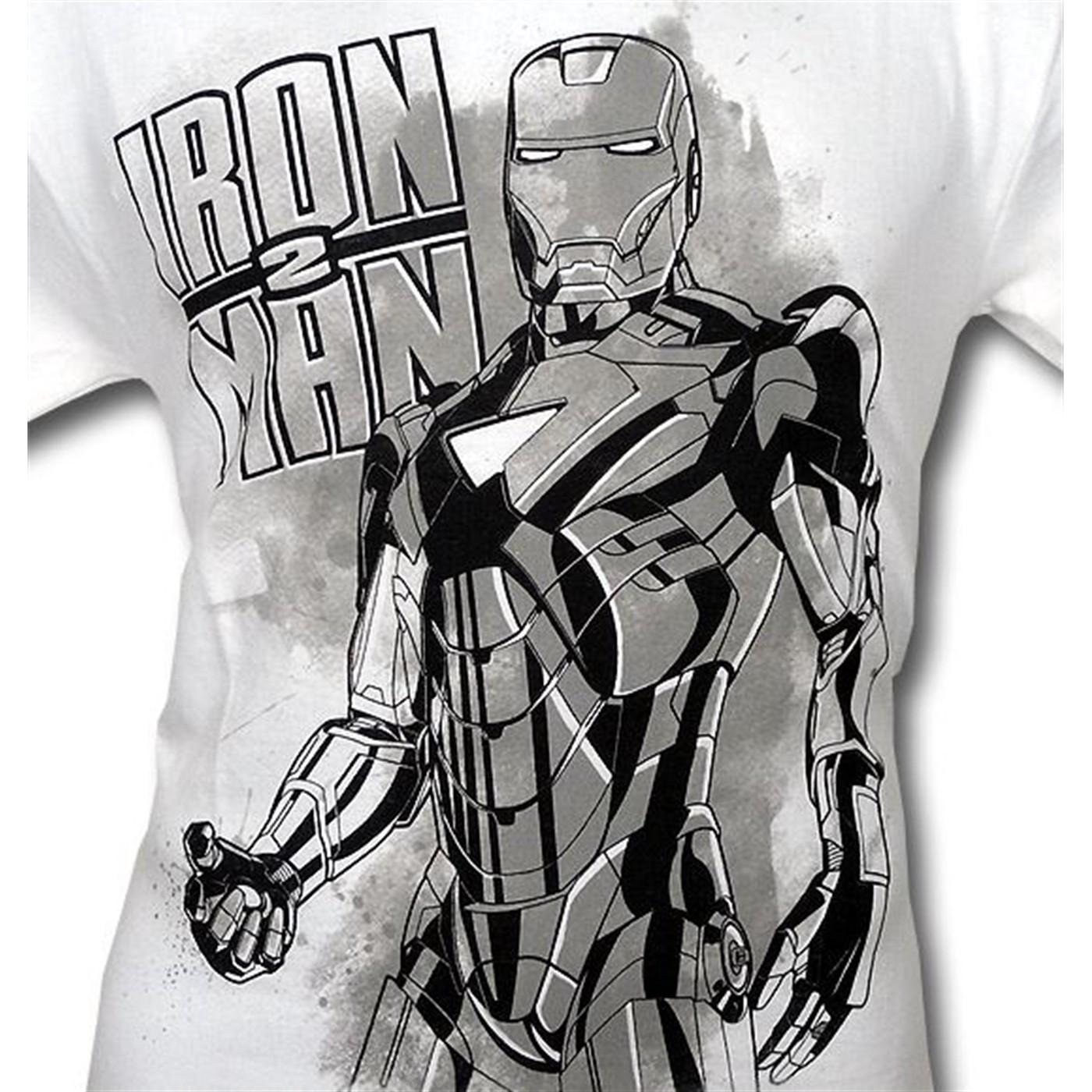 Iron Man 2 Armor Upgrade T-Shirt