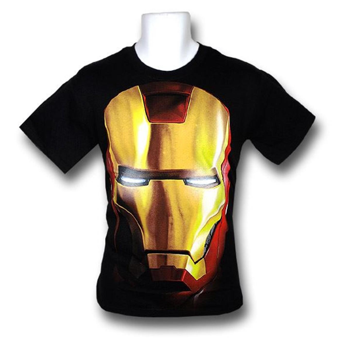 Iron Man 2 Movie Helmet T-Shirt