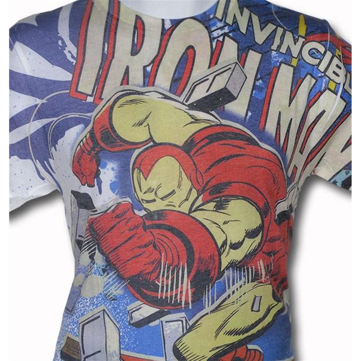 Iron Man Smash Sublimated T-Shirt