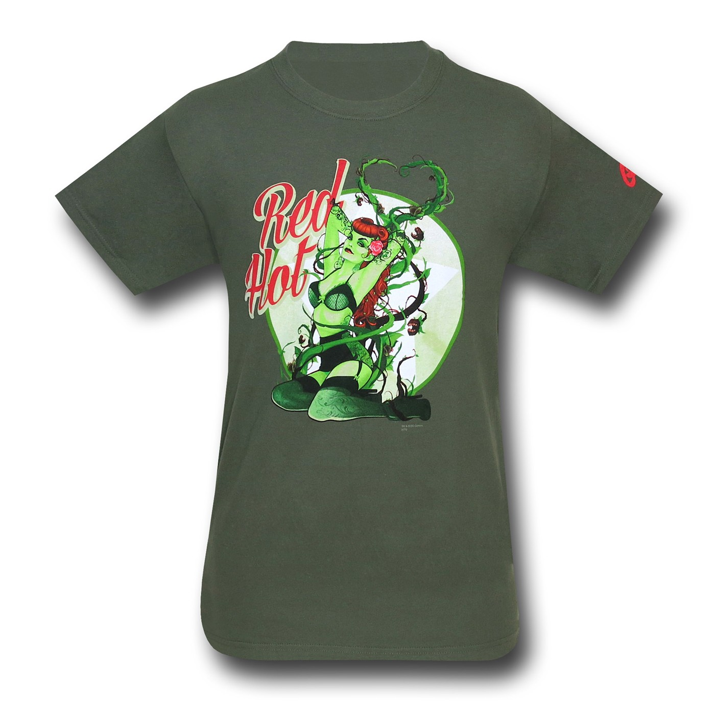 Poison Ivy DC Bombshells Red Hot T-Shirt