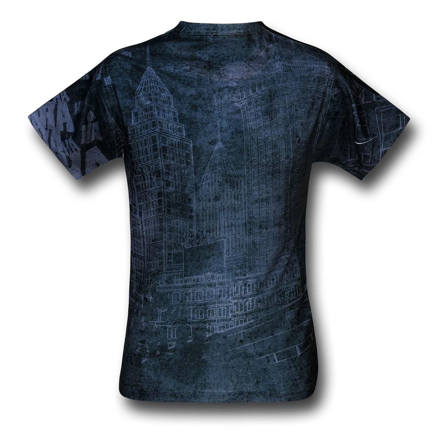 Joker Sprays the City Sublimated T-Shirt