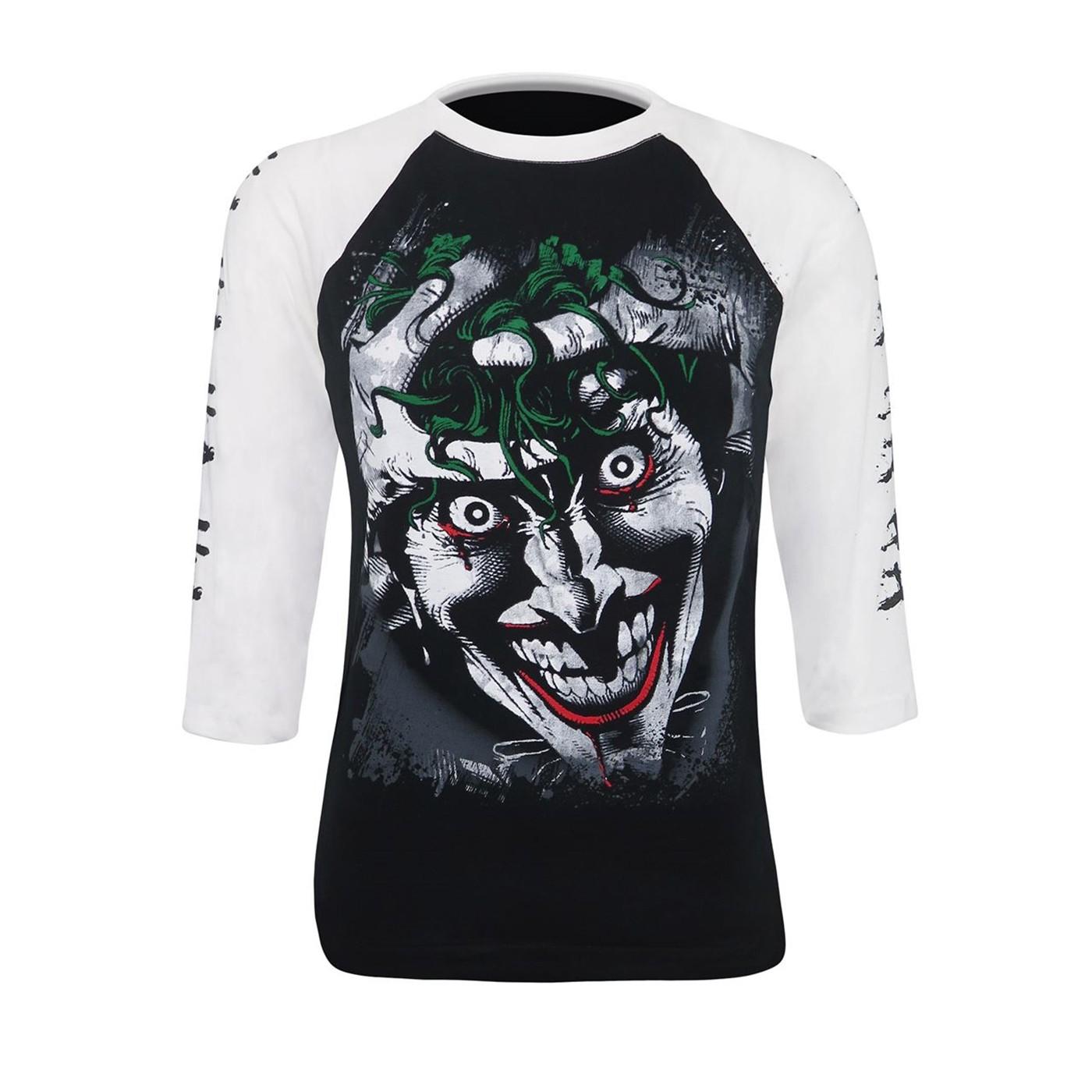 Joker Killing Joke Men's Baseball T-Shirt