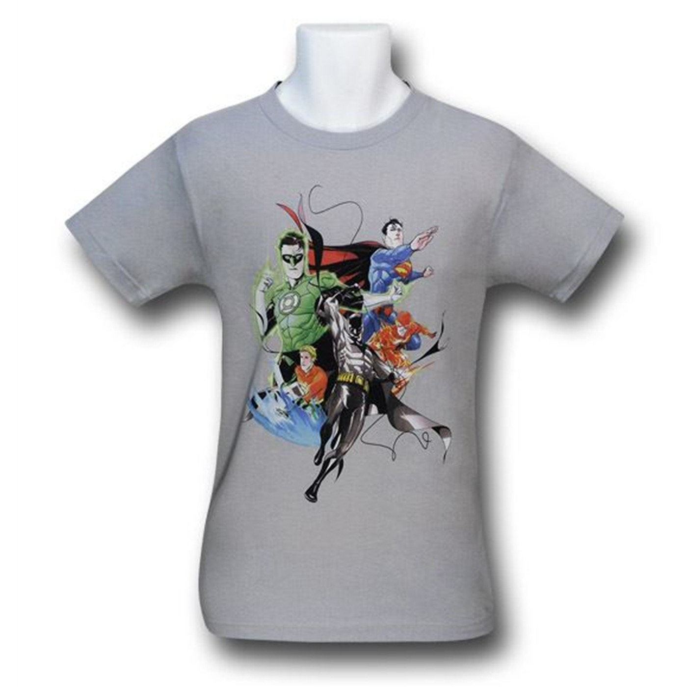 Justice League Mashup by Dustin Nguyen T-Shirt