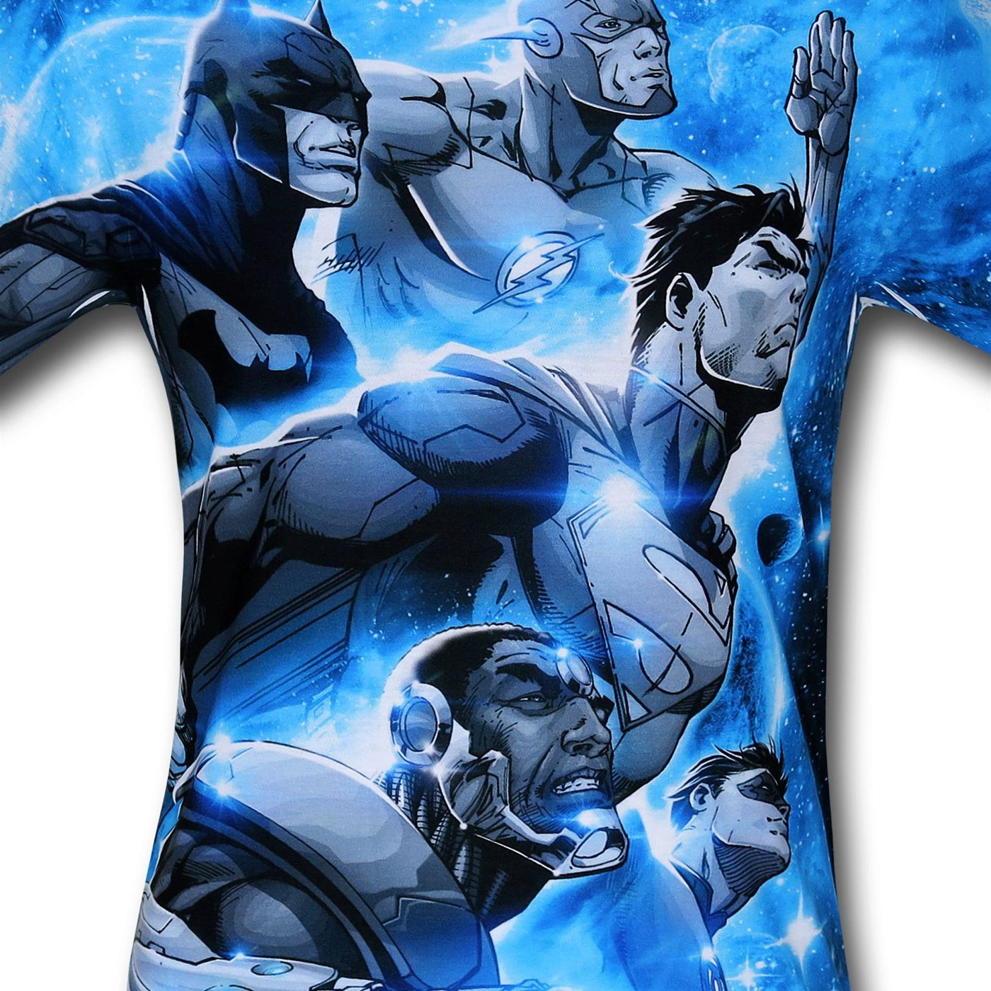 Justice League Space Patrol Sublimated T-Shirt