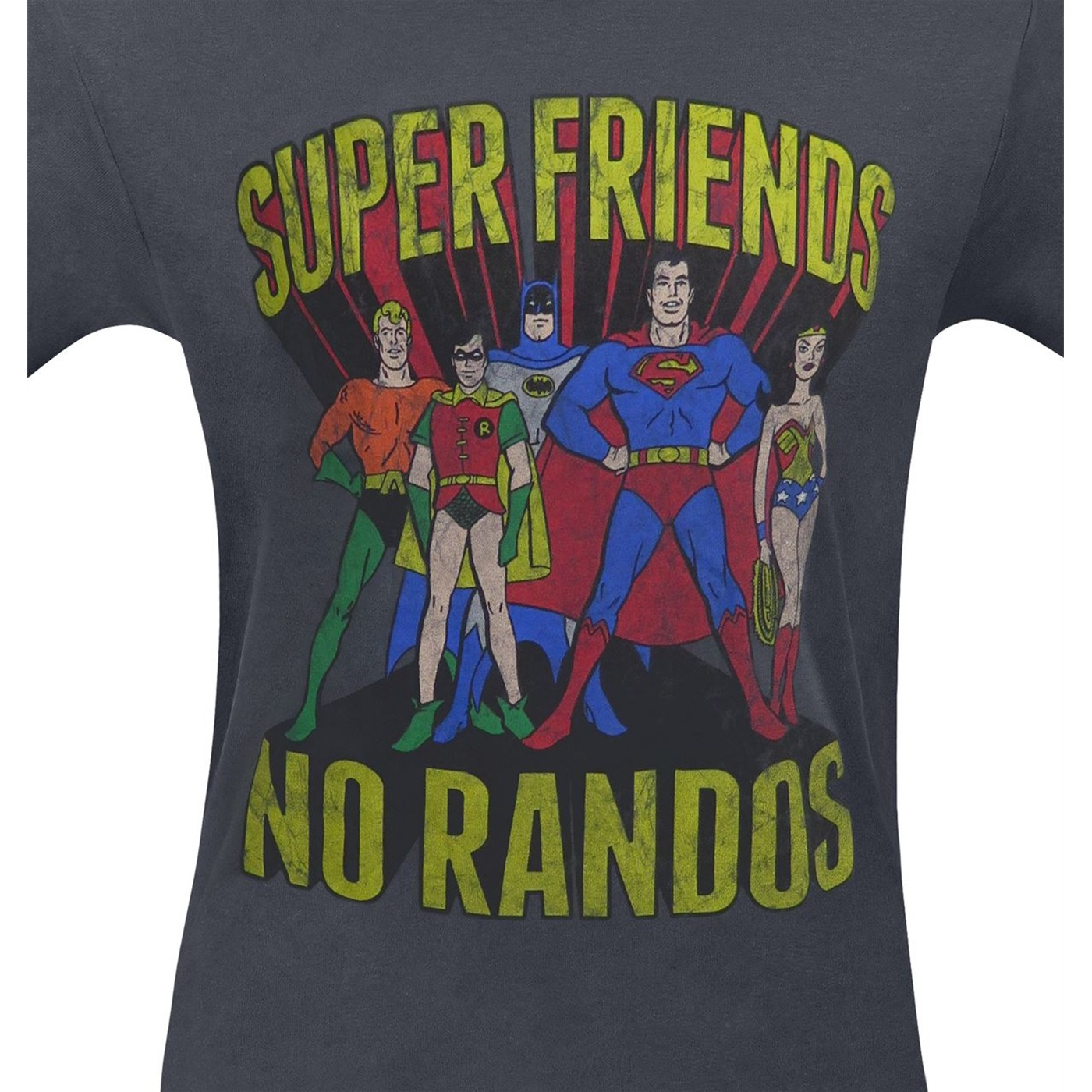 Super Friends No Randos Men's T-Shirt