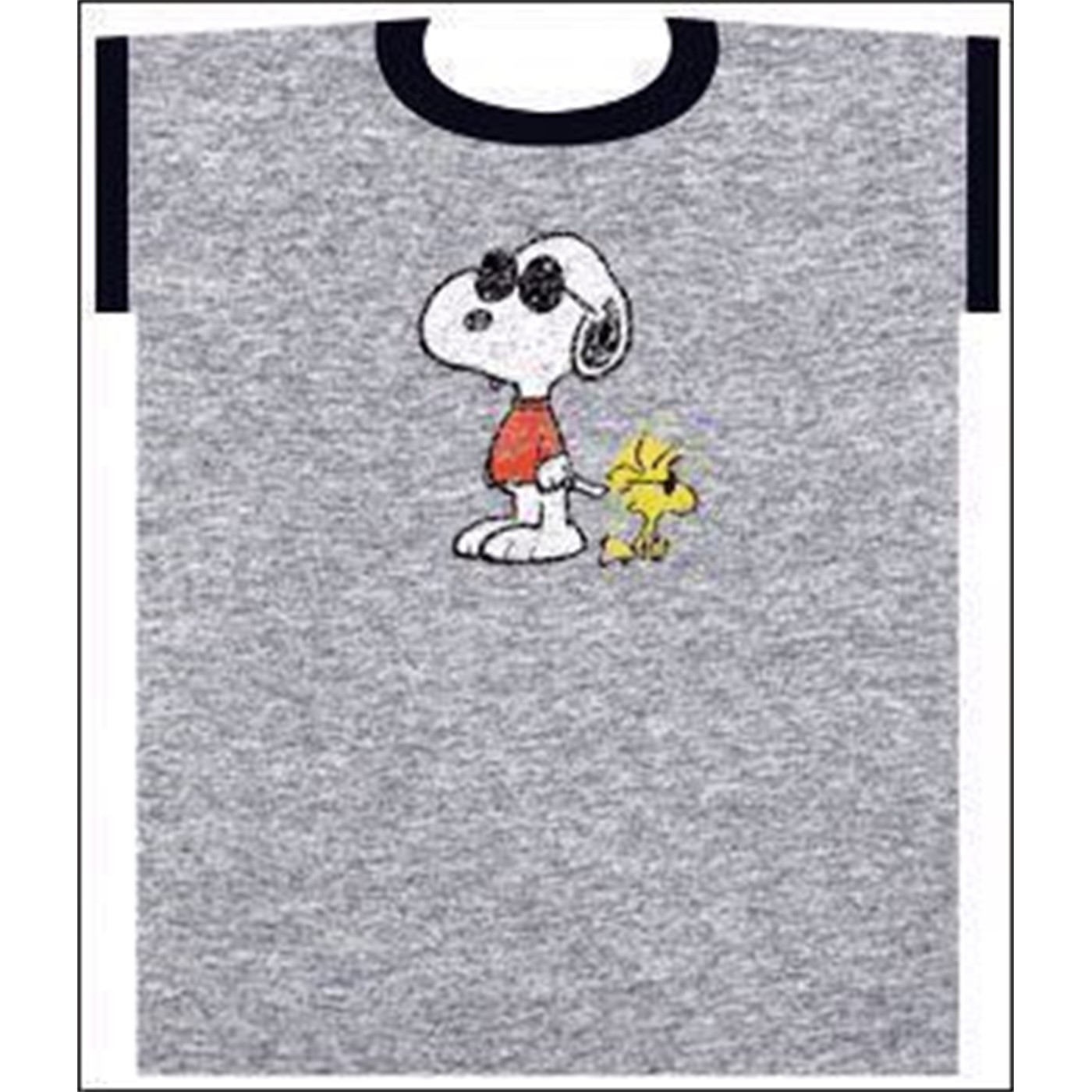 Snoopy Joe Cool with  Woodstock T-Shirt