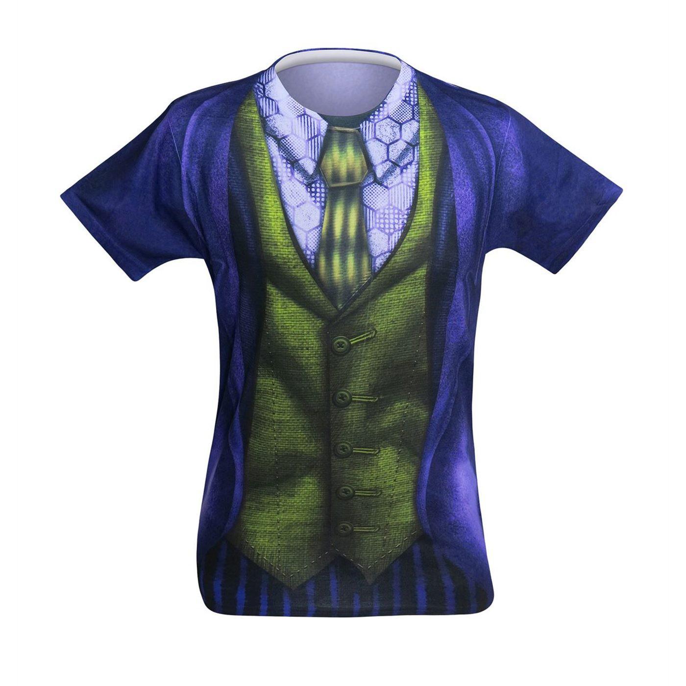 Joker Suit-Up Sublimated Costume Men's T-Shirt
