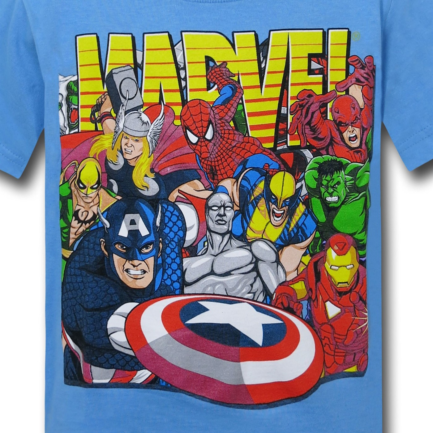 Marvel Action Heroes Juvenile T-Shirt