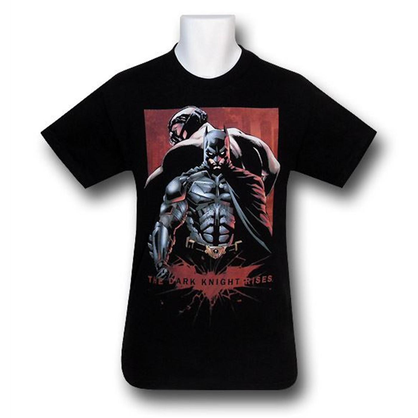 Dark Knight Rises Kids Back to Back T-Shirt