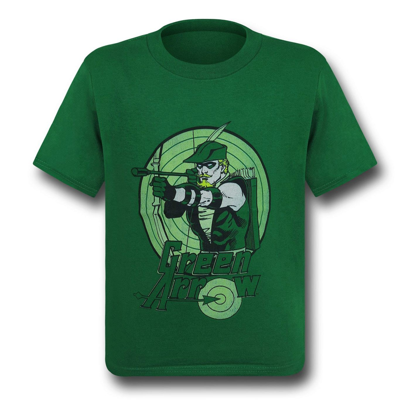 Green Arrow Kids Bullseye Kelly T-Shirt