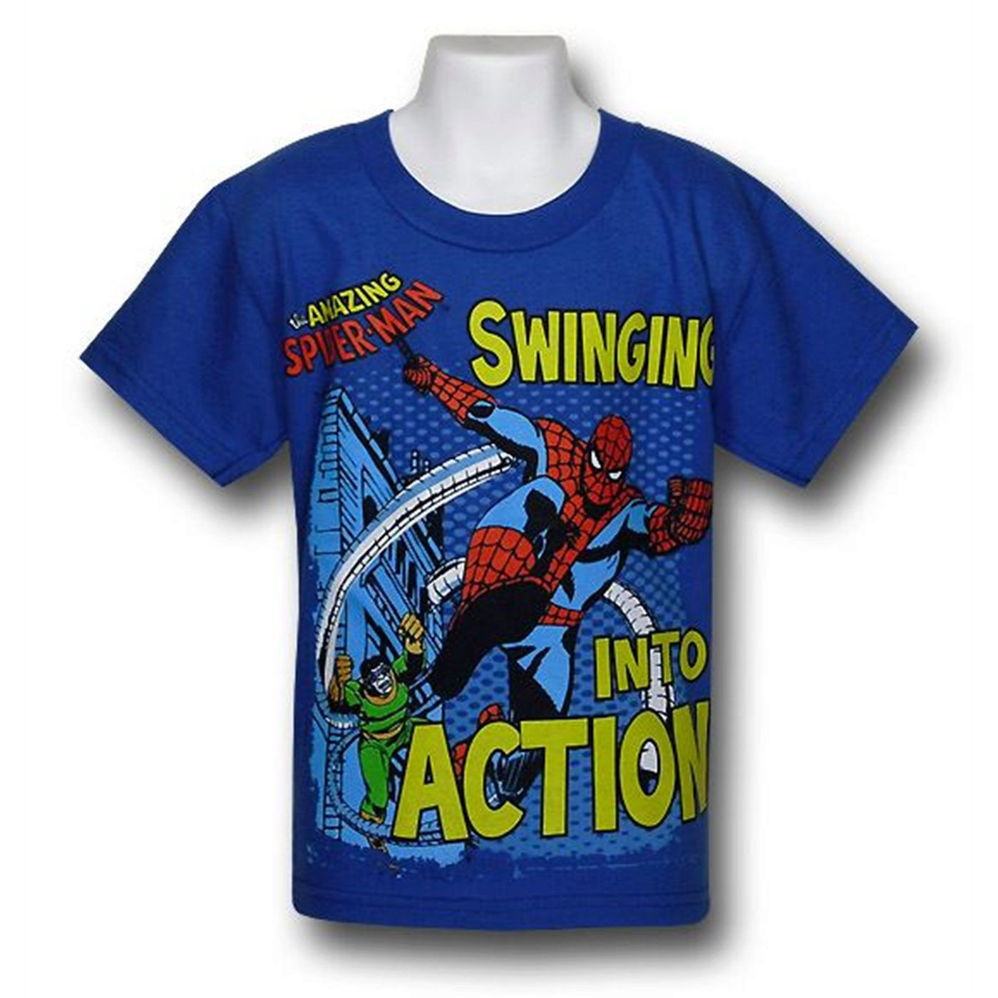 Spider-Man Kids Swing to Action T-Shirt