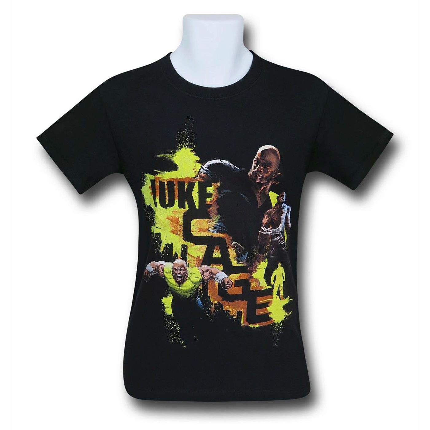 Luke Cage Action Pose Men's T-Shirt