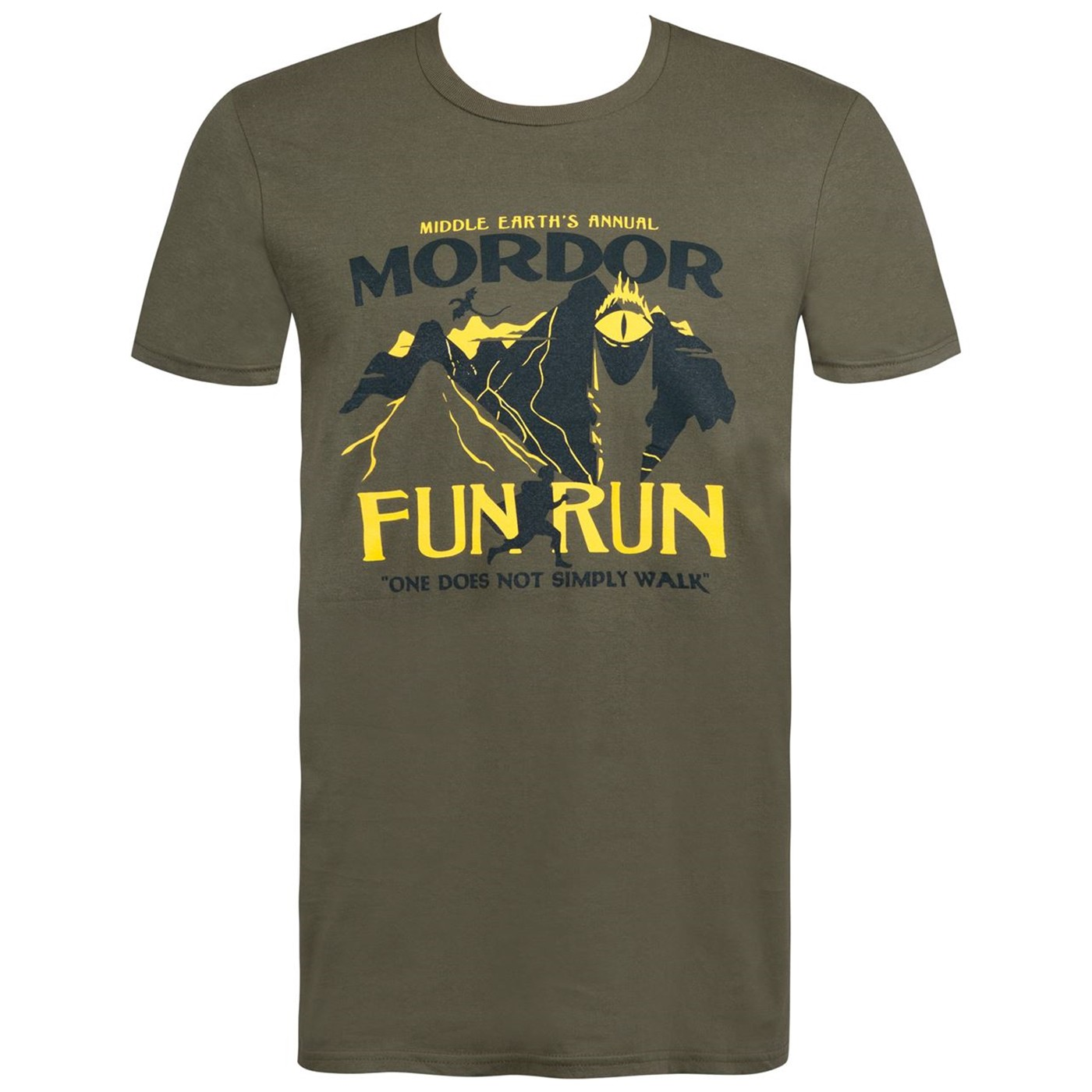Mordor Fun Run Men's T-Shirt