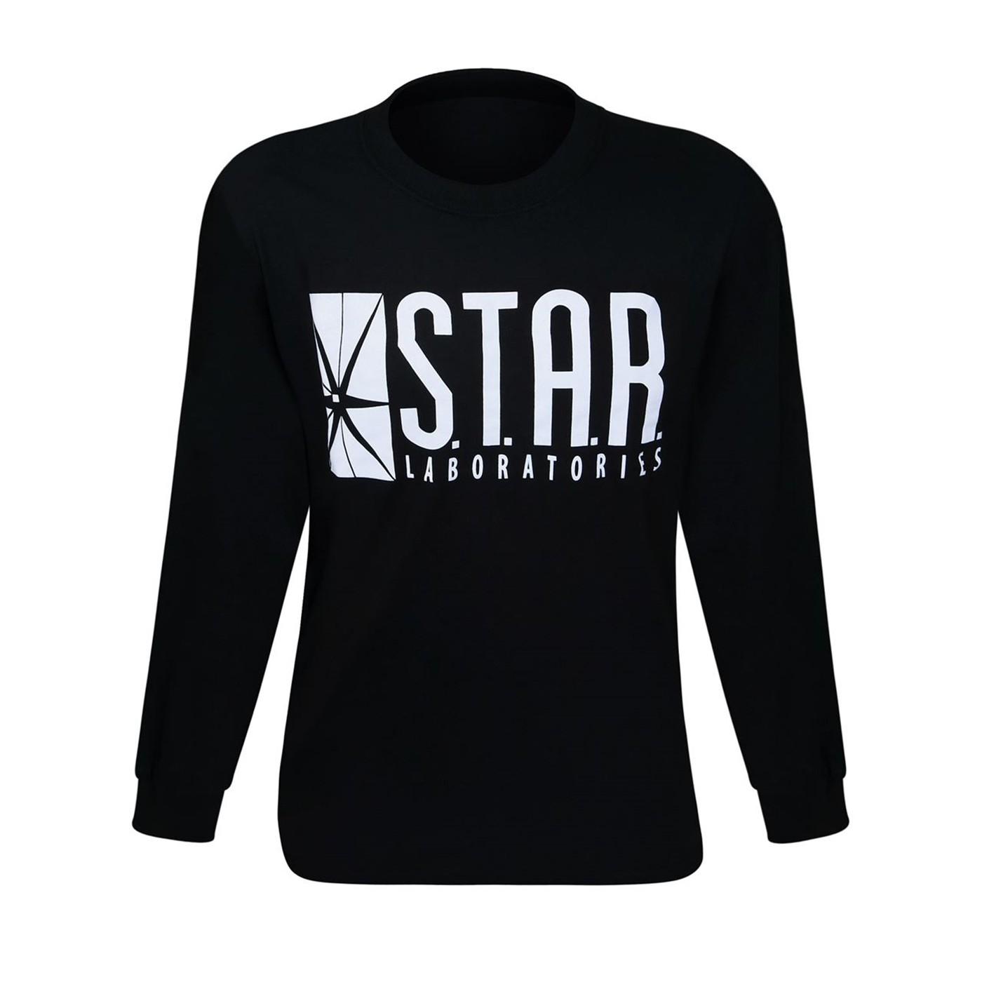 Flash Star Labs Pint Glass Black