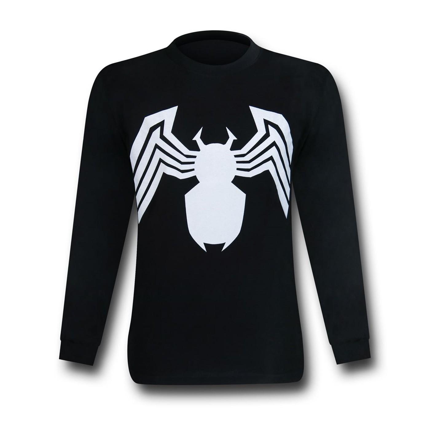 Venom Symbol Long Sleeve T-Shirt