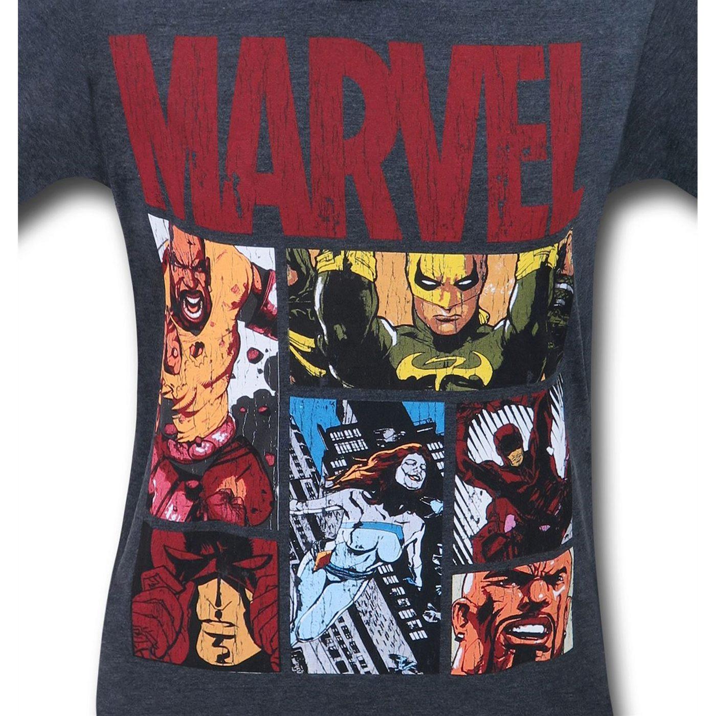 Marvel Defenders Hood Knights Men's T-Shirt