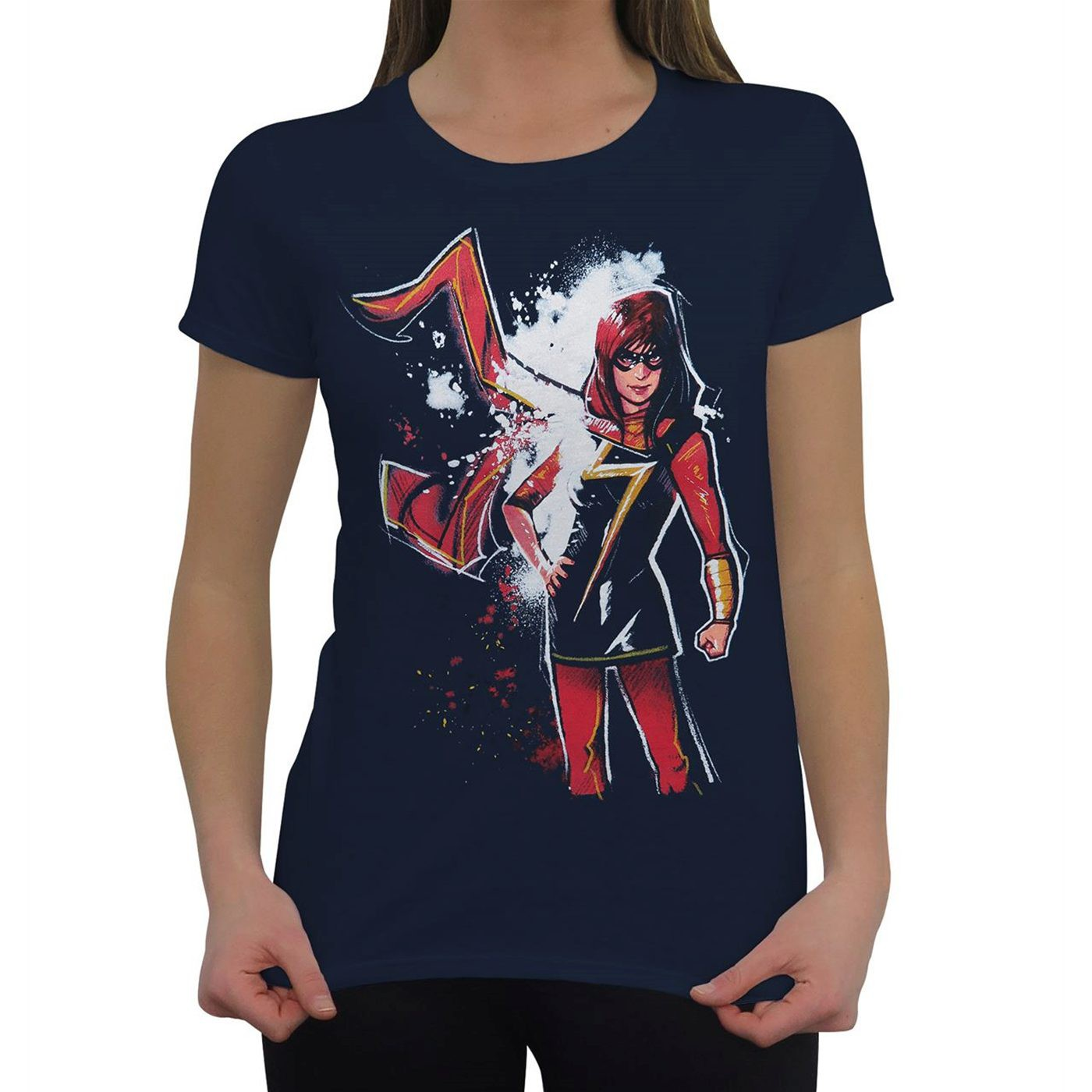 Ms Marvel Midnight Women's T-Shirt