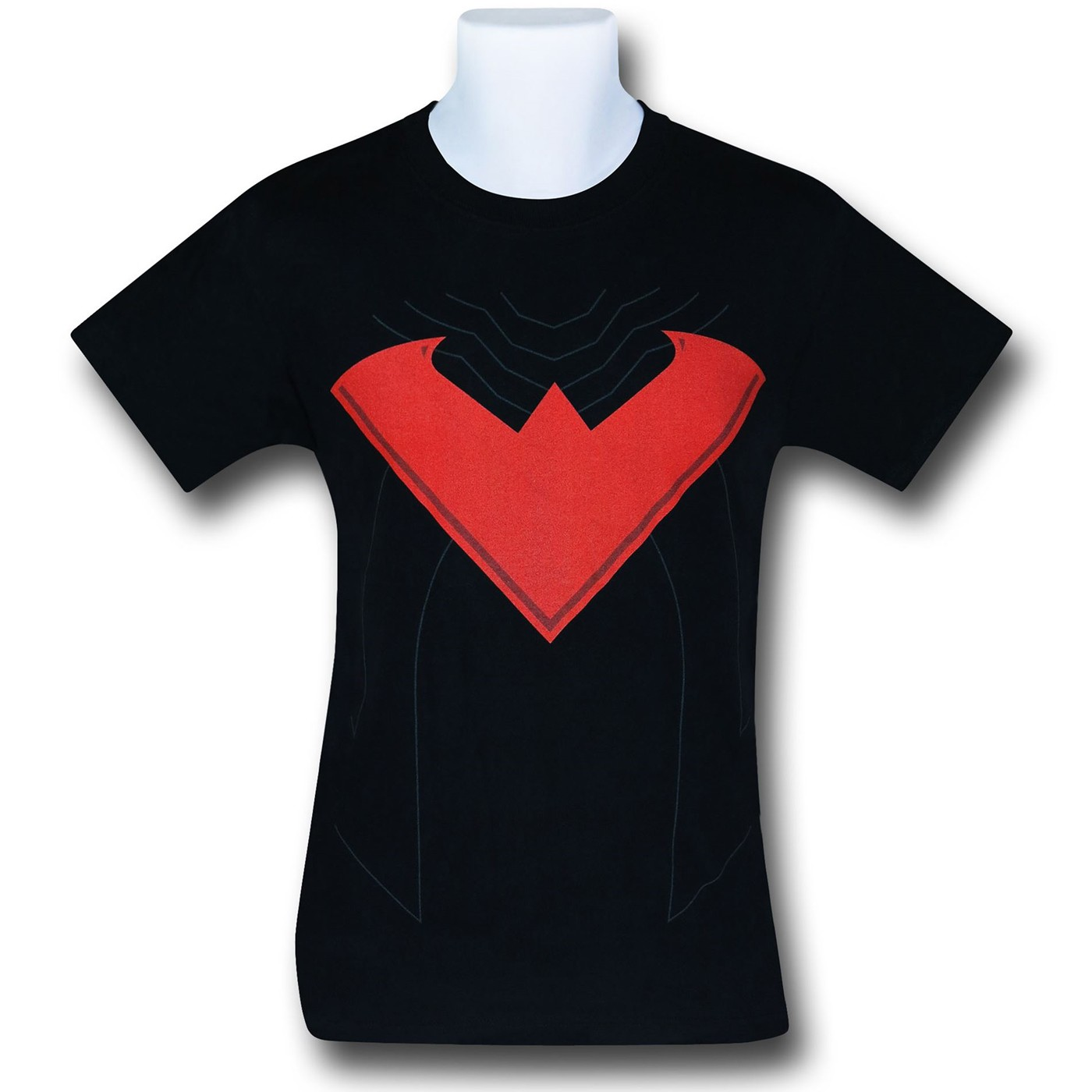 Nightwing Red Symbol Costume T-Shirt