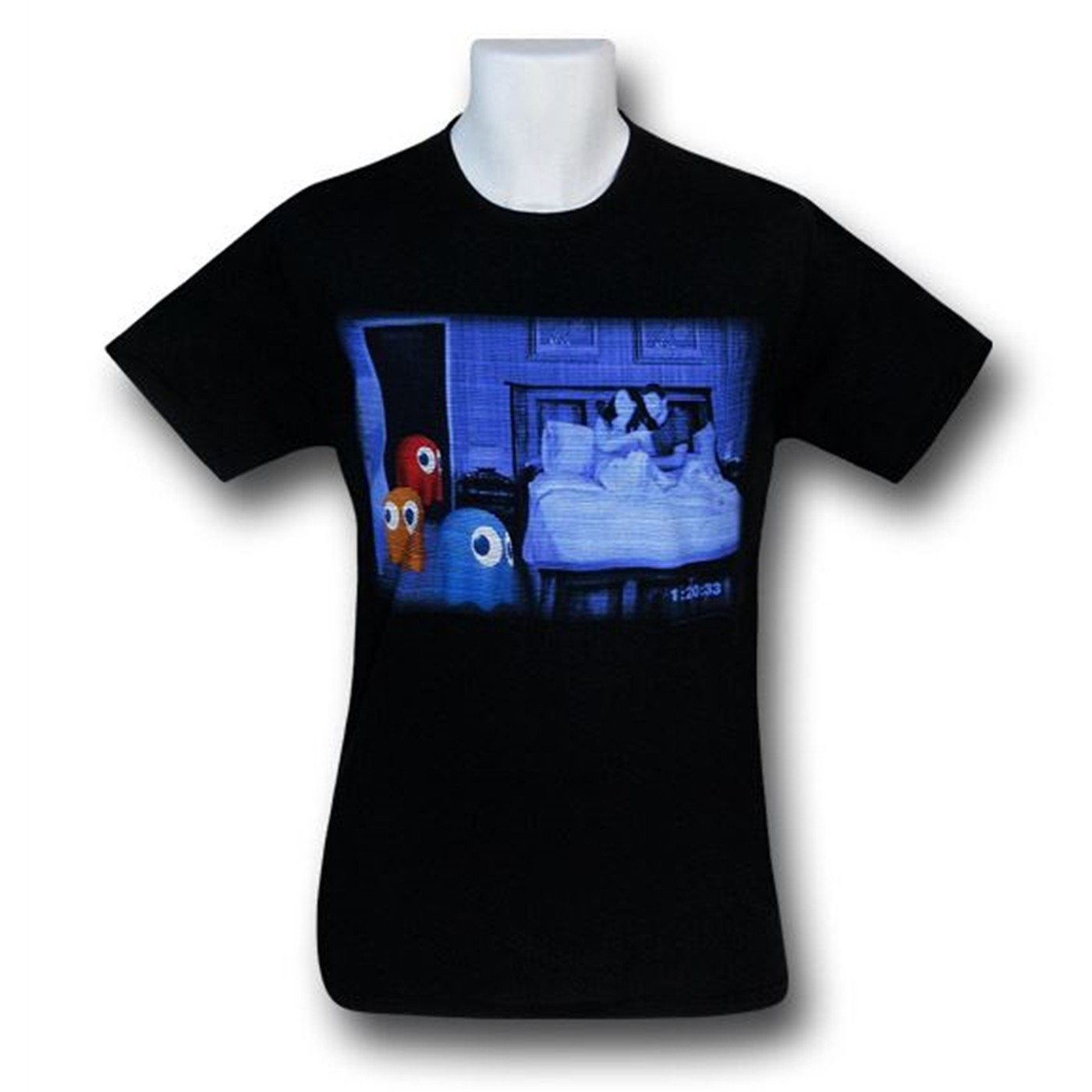 Pac-Man Paranormal Activity T-Shirt