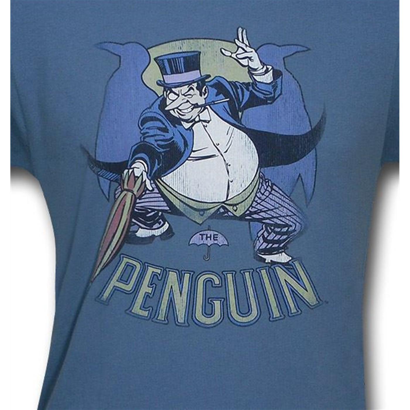 Penguin Umbrella Jab T-Shirt