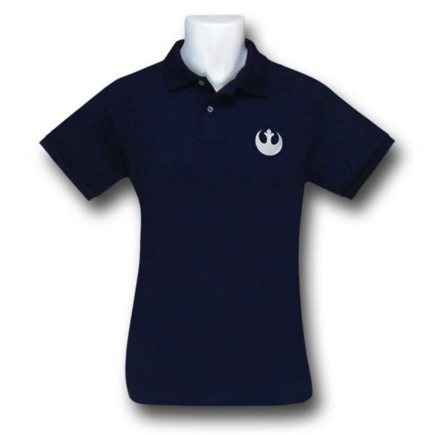 Star Wars Rebel Symbol Navy Polo Shirt