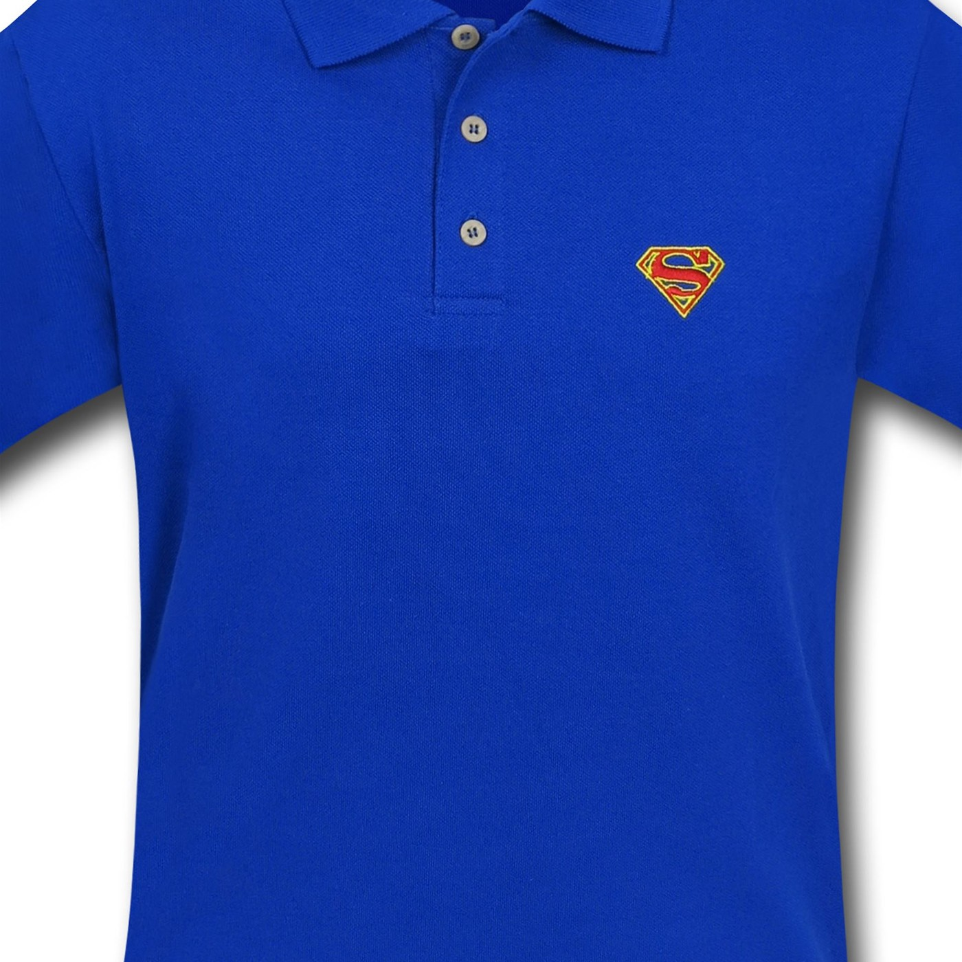 Superman Red Symbol Polo Shirt