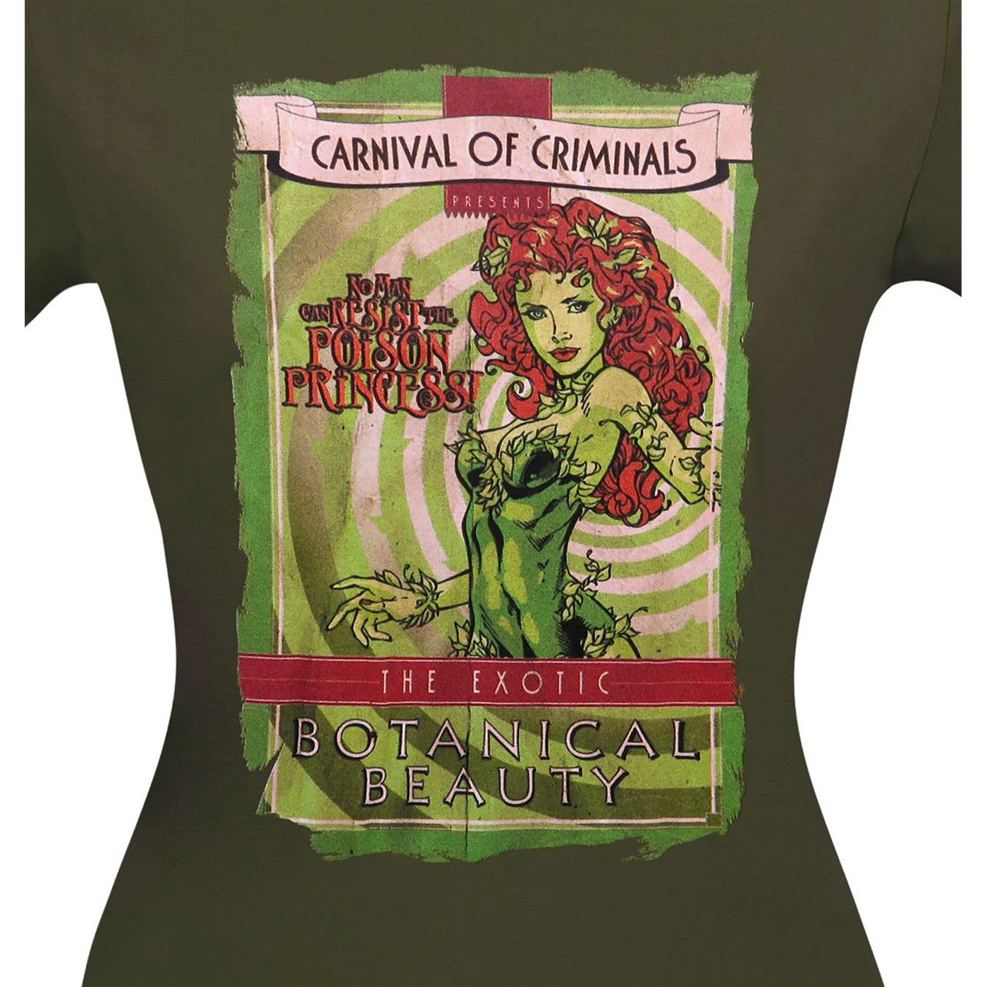 Poison Ivy Carnival Poster Women's T-Shirt