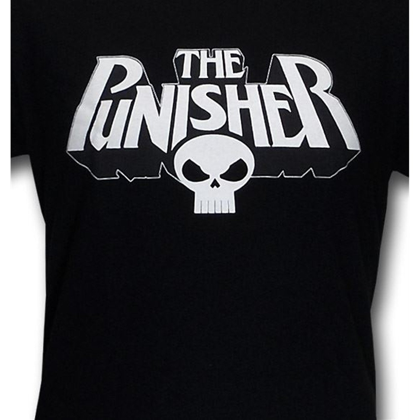 Punisher Logo and Skull T-Shirt