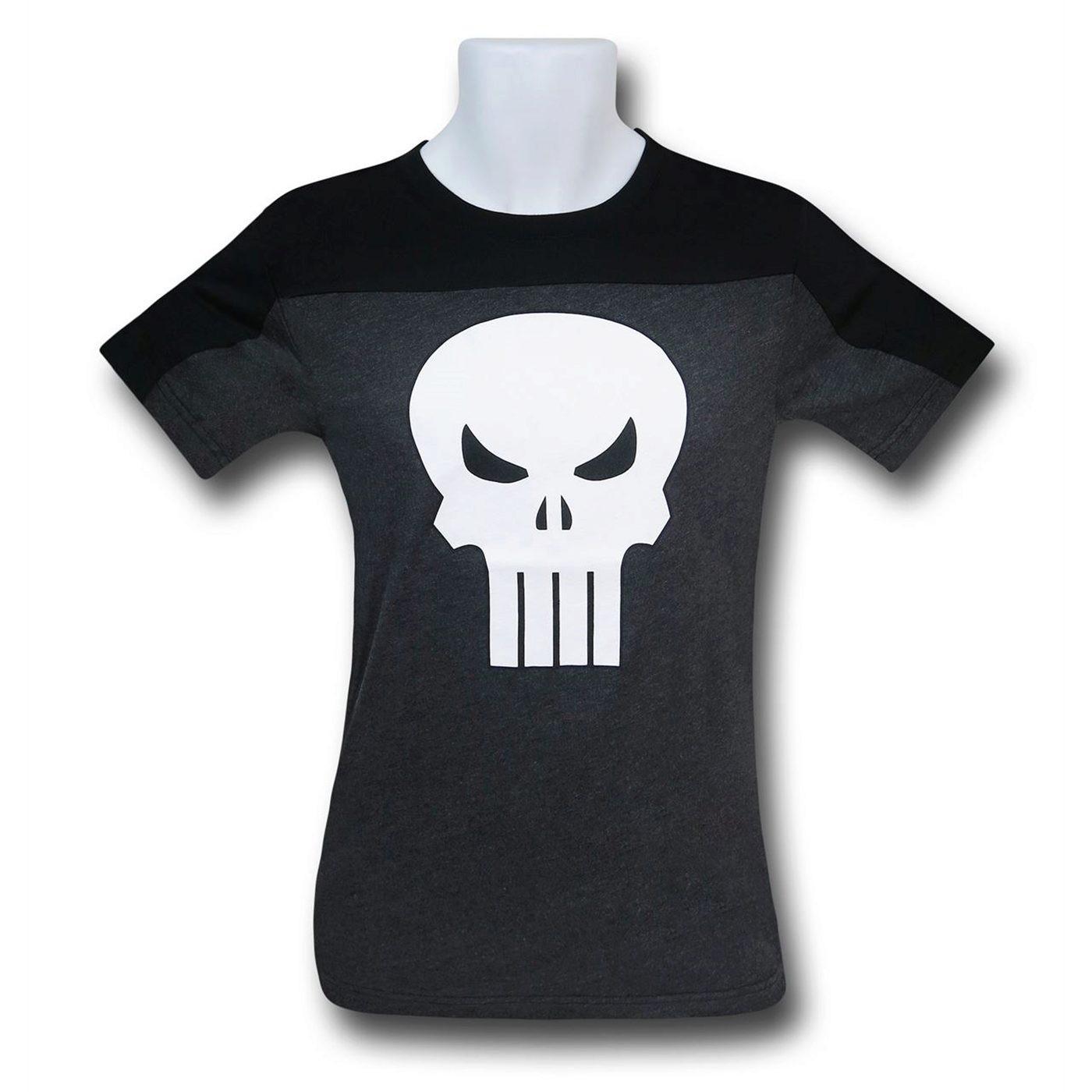 Punisher Symbol Two-Tone Men's T-Shirt
