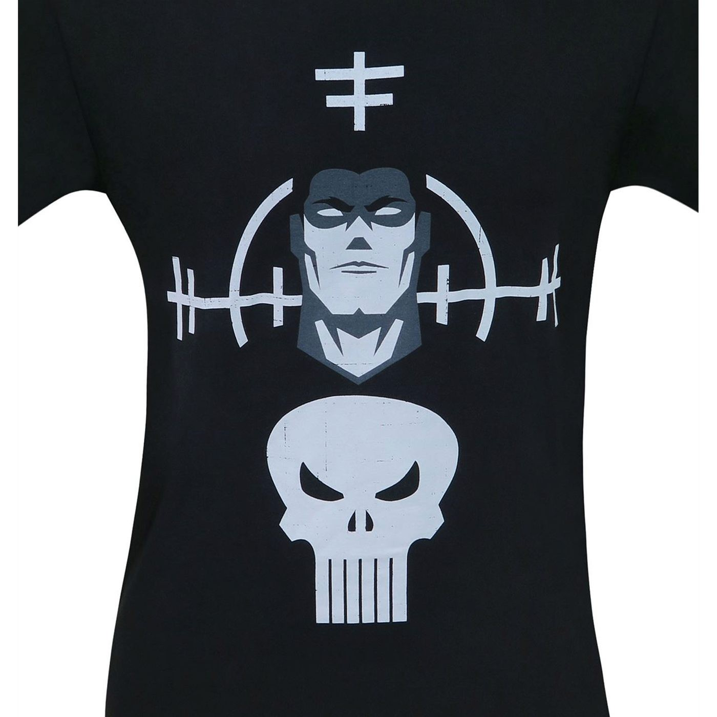 Punisher and Target Minimalist Men's T-Shirt